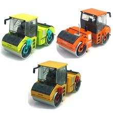 1:35 KAIDIWEI Alloy Roller Truck Toys, Simulation Die cast Tandem Compactor Model, Boys Trucks, Kids Toys, Juguetes(China)