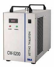 CO2 Laser cooling CW5200 laser water chiller for cooling 130w 150w laser tube(China)