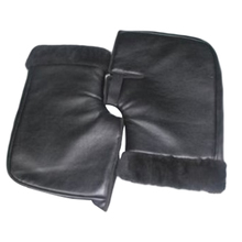 CAR-partment new Waterproof Motorcycle Scooter Winter Gloves Quad Bike Handlebar Hand Fur Muffs Gloves Mitts Winter Warmer(China)