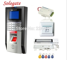 Bio Single Door Fingerprint and RFID Card Access Control System & Time Attendance Kits+Magnetic lock
