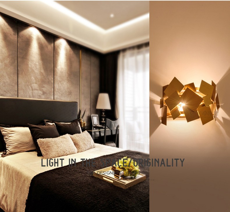 Stainless Steel Square Wall Lamp 15
