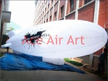 Giant inflatable advertising Airship boat seaplane model with logo on Ground(China)
