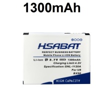 HSABAT Top Brand 100% New 1300mAh BX50 Battery for MOTOROLA RAZR2 V9 RAZR2 V9m Q9 Q9m Q9h within tracking number(China)