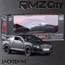 Free Shipping RMZ city New Bentley Continental 1/36 Scale 5 Inch Diecast Vehicles Model Car Toys for Children Best Gifts Toys(China)