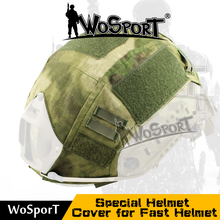WoSporT Paintball cloth Wargame Army Airsoft Tactical Military Helmet Cover For Fast Helmet for MH & PJ Style Helmet Accessory(China)
