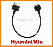 Aux USB Input interface Cable for iPod iPhone iPad iTouch for Hyundai Kia(China)