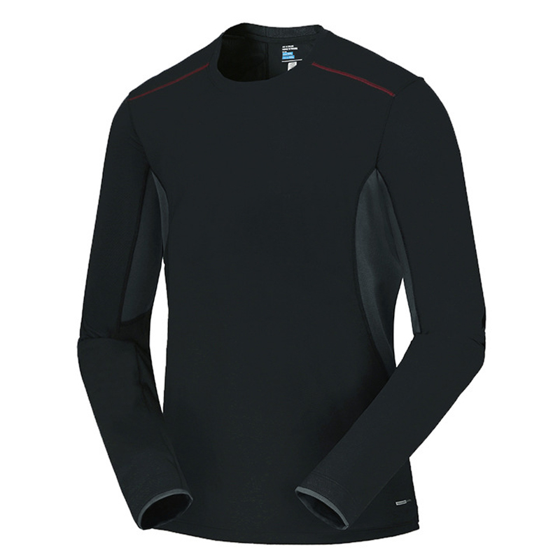 Spring Men Elastic Quick Dry T-shirt Male Outdoor Tees Long Sleeve Shirt Sport Breathable Soft Fabric Trekking Hiking Shirt5