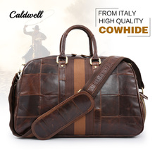 caldwell golf clothing bag golf bags Genuine Leather Men & Women From italy High quality cowhide(China)