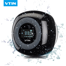VTIN MINI Portable wireless bluetooth speaker FM radio bluetooth 4.0 LCD screen build in Microphone waterproof shower speaker(China)