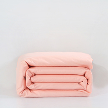 Solid pink duvet cover 100% cotton twin full queen king size zipper blanket cover Luxury high quality quilts case cover bedding