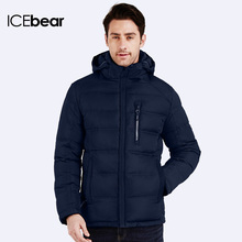 ICEbear 2016 Autumn Winter Warm Parka Brand Thick For Men Fashion Outerwear High Quality jacket Coat 16MD887