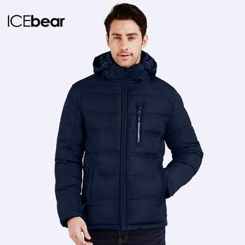 ICEbear 2016 Осень Зима Теплая Куртка Марка Толстая Для Мужчин Модные Спортивные Мужские Верхняя Одежда Куртки И Пальто 16MD887