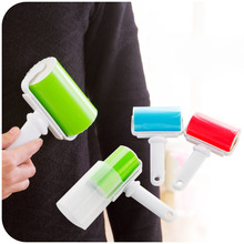 Hot sales portable washable dust filter drum roll sticky hair hair removal device cleaner cleaning brush(China)