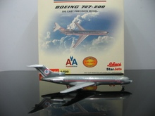 Special offer Original StarJets 1:500 American Airlines 727 N6809 Alloy plane model Collection model(China)