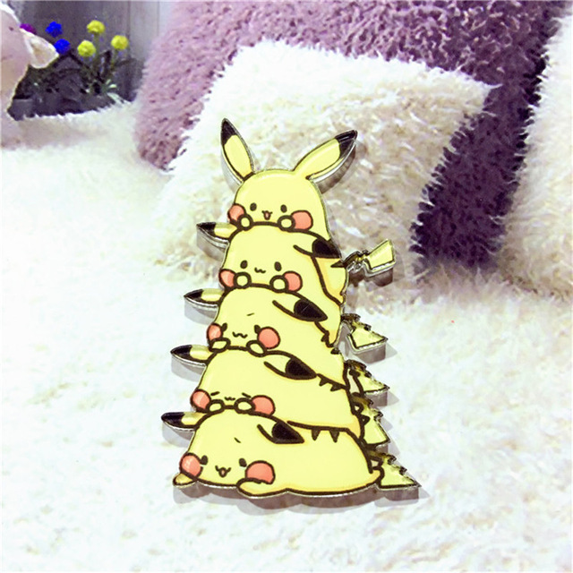 Kawaii-Icon-Harajuku-Stacked-Animal-Pikachu-Acrylic-Brooch-Clothes-Badge-Decorative-Rozet-Collar-Scarf-Lapel-Pin.jpg_640x640