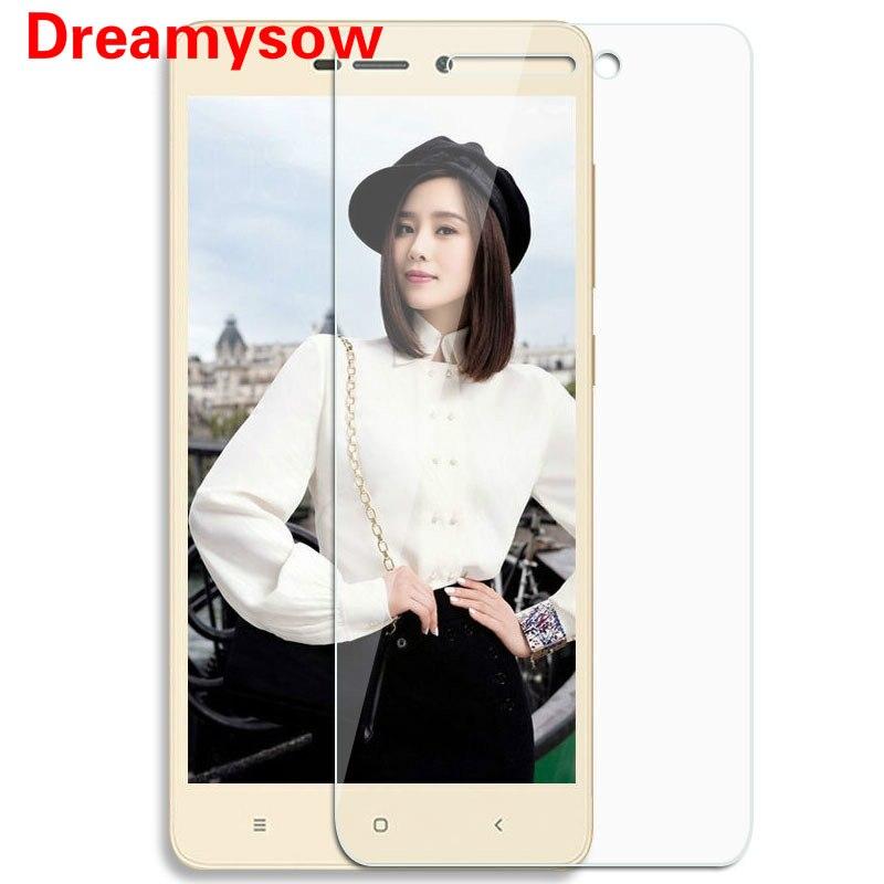 Xiaomi Redmi 3 3S 4 4X note2 3 4 Pro 5 A1 Tempered Glass Screen Protector Film 9H Safety Protective Film Redmi 5 5plus