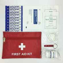 2017 New Emergency kit  survival bag  Mini Family  First Aid Kit  Sport Travel kits  Home Medical Bag Outdoor Car First Aid Bag