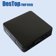 Original quality tvip v.410 V410 tv set top box with EU US UK AU plug and shipping free 20pcs/lot