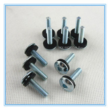 20pcs M6x25mm Screws with rubber washer/Hexagon Socket/Factory Warehouse Directly/Free shipping