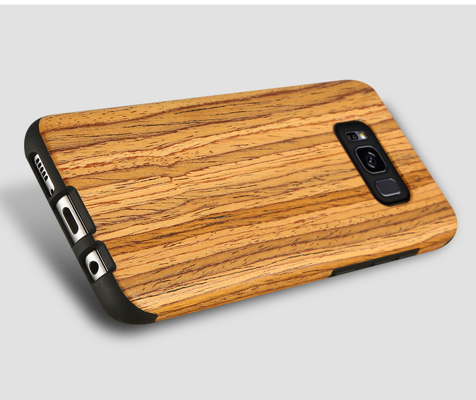 wood pattern soft tpu case for samsung s8 s8 plus (16)