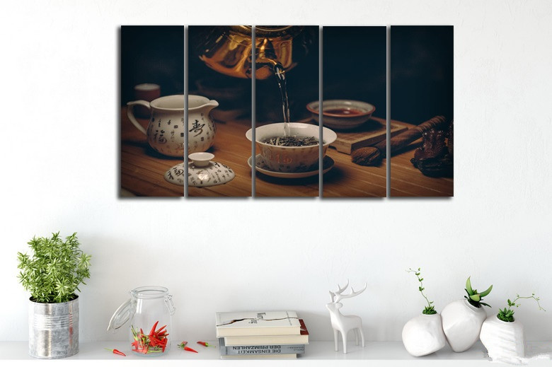 5-Pieces-Set-UNFRAMED-Painting-Chinese-Traditional-Tea-Culture-Canvas-Wall-Art-HD-Printing-Living-Room (2)