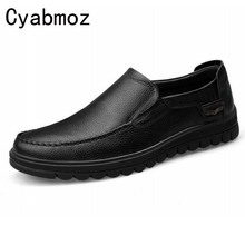 Buy Cyabmoz 2017 Flats New Arrival Brand Casual Shoes Men Genuine Leather Loafers Shoes Comfortable Handmade Moccasins Shoes Oxfords for $49.50 in AliExpress store