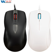 Noiseless USB Optical Gaming Computer Mouse 1000 DPI Super Quiet Silent Click Compact Soundless Mice for PC and Mac