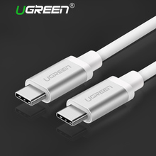 Ugreen USB Type C 3.1 USB C Male to Type-C Cable Male Fast Charger Cable for Xiao 4C Nexus 5X,Nexus 6P,OnePlus 2,ZUK Z1,Nokia N1(China)