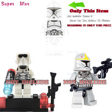 one piece star wars superhero 501st Clone Jet Trooper building blocks lepin action figure model bricks Baby toys for children