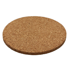 6pcs Plain Round Cork Coasters Coffee Drink Tea Cup Mat Placemats Wine Table mats