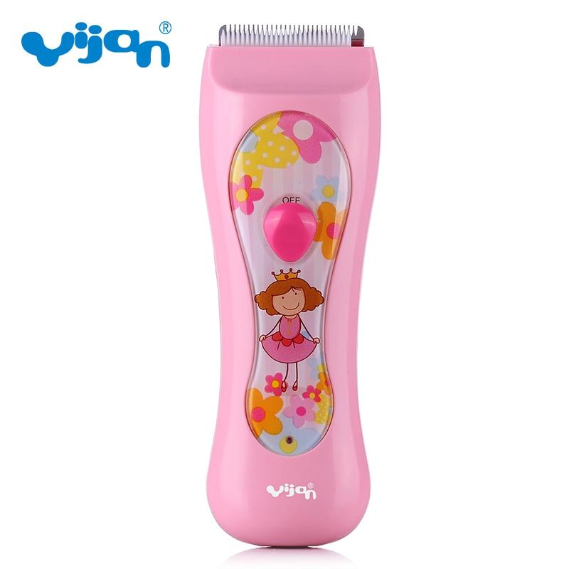 Yijan G820S Baby girls Electric Hair Clipper Rechargeable Hair Trimmer Hair Cutting Machine Haircut Beard Trimmer Waterproof<br>
