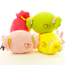 Cute hand warm plush toys 40cm pillow cushion Christmas present plush Candy winter warm hand Stuffed plush animals doll(China)