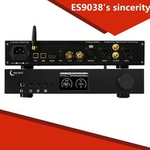Buy ES9038Pro DAC HiFi DSD XMOS amplifier decoding machine Bluetooth full balanced decoder for $780.00 in AliExpress store