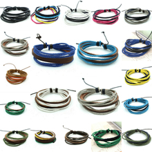 Hot Neutral Multilayer Rope Beauty Bracelet Hand Mash Charm Jewelry New Fashion Lots Bangle Personality