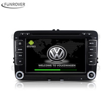 2 din car DVD player Android 5.1 Quad Core passat b6 For VW For Skoda POLO GOLF PASSAT cc Car radio GPS navigator player Stereo(China)