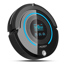 Intelligent A338 Schedule Robot Vacuum Cleaner for home (Sweep,Vacuum,Mop,Sterilize,Roll)  Self-Charge Home Appliances Vacuum