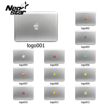 Colorful Laptop Sticker Decal Skins for Macbook 11 13 15 17 inch sticker for mac book Rainbow logo Free Shipping New Arrival