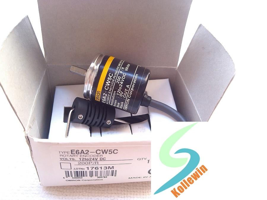 Freeshipping  OMR Incremental  Rotary Encoder E6A2-CW5C 200P/R, 12-24VDC OPEN AB Phase,  E6A2CW5C 200P/R NEW in Box<br><br>Aliexpress