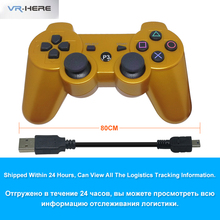 VR-HERO Camouflage Camo and Gold Wireless Game Controller Bluetooth Gamepad for PS3 Controller Playstation 3 Joystick Console(China)