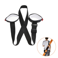 Ski Cross Country Mountain Skiing Snowboard Backpack Snow Board Ski Holder Carrier Strap(China)