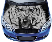 DIY Creative Car Styling Covers Customize 3D Car Hood Sticker Decal Racing Camouflage Vinyl Film Sticker Paint