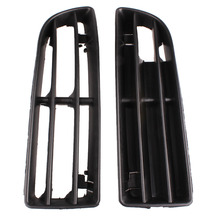 New Arrival Front Bumper Lower Side Vent Grille Set Left & Right For 99-04 VW JETTA MK4 Black Replacement Free Shipping