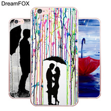 L232 Romantic Umbrella Girl Soft TPU Silicone  Case Cover For Apple iPhone 7 6 6S Plus 5 5S SE 5C 4 4S