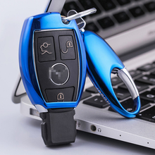 New Styling Car Key Case cover Benz remote control key mercedes benz key chain fits GLKGLA200 E-Class C-Class GLC-Class