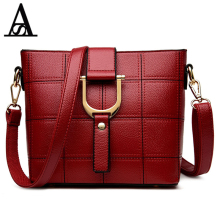 Aitesen 2017 Fashion PU leather Women Messenger Bags Michael Handbags Casual Tote Pocket Sac a main femme de marque luxe cuir(China)