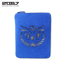 2087 New Brand 9.8'' Pad Sleeve&Cases Felt Business Briefcase Tablet Computer Bags Handbag Pouch Felt Hollow Out Owl Storage Bag
