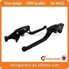 New Arrived Ergonomic New CNC Adjustable Right-angled 170mm Brake Clutch Lever For Kawasaki ZZR1200 2002 2003 2004 2005