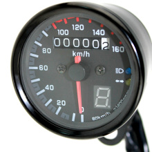 12V Universal Motorcycle Speedometer Tachometer Gauge w/ LED Backlight(China)