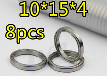 8pcs/Set 10x15x4 Bearing Ball Bearing 02138 Roller 1/10 Scale For HSP parts Atomic Himoto Nitro RC Cars