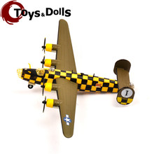 Collectible RV-MODEL 1/144 Fighter Model WWII USA B-24 Liberator Bomber Military Diecast Airplane Model Aircraft Boys Toys Gifts